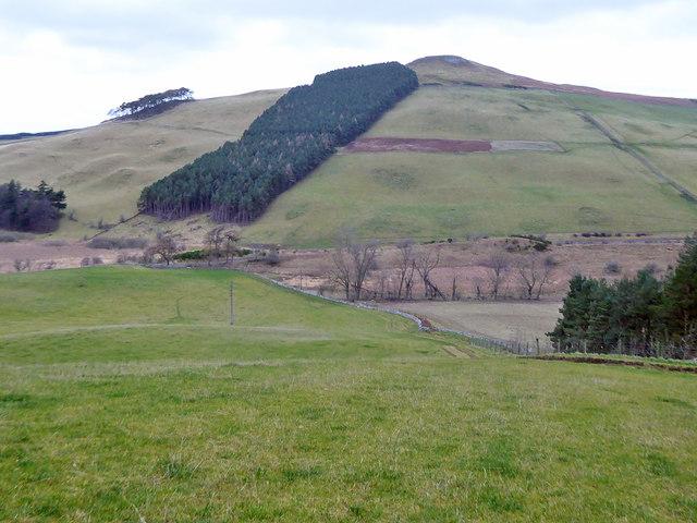 View towards Highside