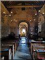 SZ0382 : Nave of church of St Nicholas, Studland by Phil Champion