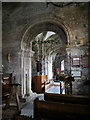 SZ0382 : View into the chancel - Church of St Nicholas, Studland by Phil Champion