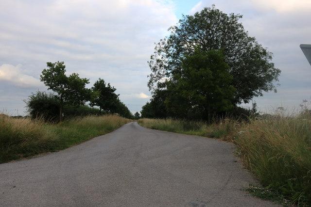 Track to Roffey Farm, Philpot End