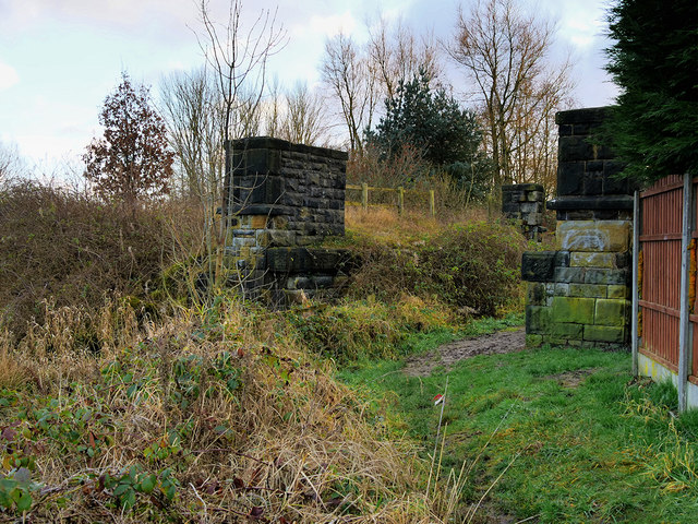 Former Railway Bridge Abutments