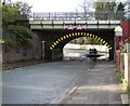 SJ8793 : Alma Road Bridge by Gerald England
