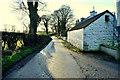 H5070 : Farm buildings along Dryarch Road by Kenneth  Allen