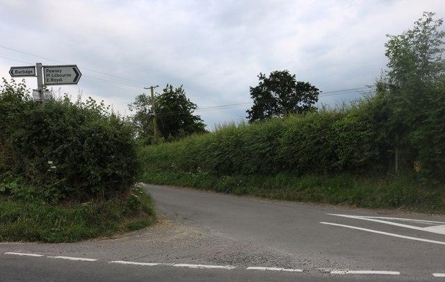 Lane in Burbage