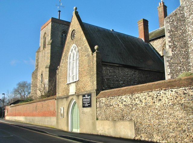 St Helen Bishopgate - south transept/porch