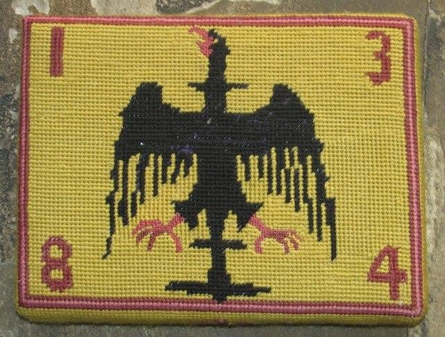 St Helen Bishopgate - kneeler