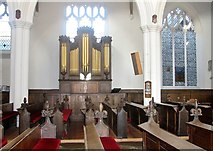 TG2309 : St Helen Bishopgate - the organ by Evelyn Simak