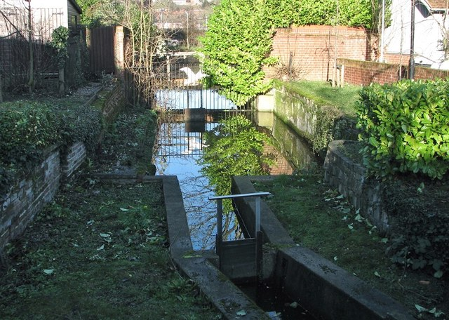 The Great Hospital - Swan pit sluice