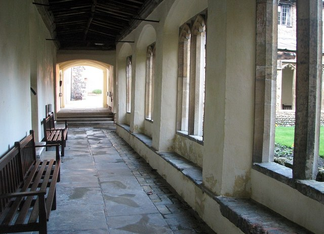The Great Hospital - The Cloister