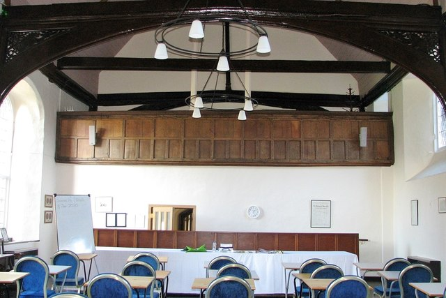 The Great Hospital - The Refectory (interior)