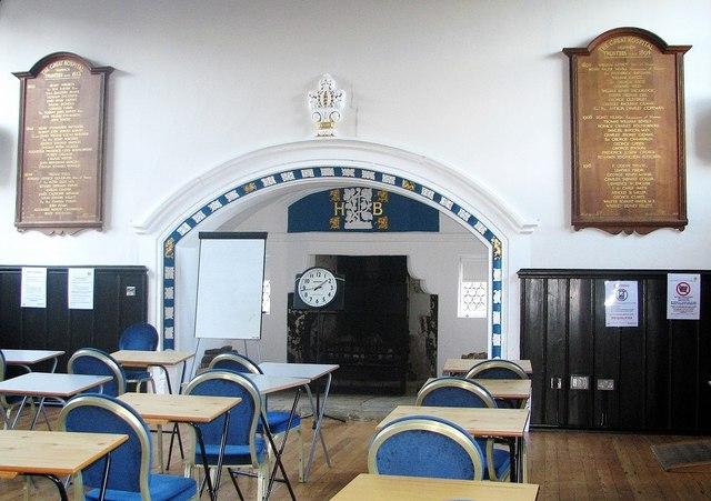 The Great Hospital - Birkbeck Hall (interior)