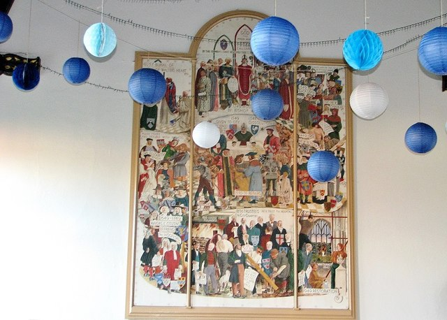 The Great Hospital - Birkbeck Hall (tapestry)