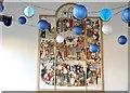 TG2309 : The Great Hospital - Birkbeck Hall (tapestry) by Evelyn Simak
