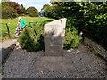 SZ0382 : War memorial in the churchyard - St Nicholas' Church, Studland by Phil Champion