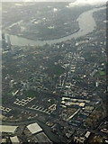 TQ3882 : Limehouse Cut from the air by Thomas Nugent