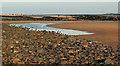 NU2423 : Pool on beach, Embleton Bay by Derek Harper