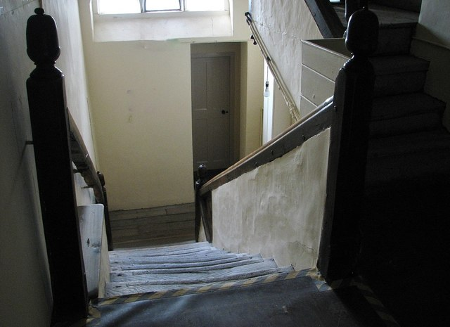 The Great Hospital - Eagle Ward (staircase)