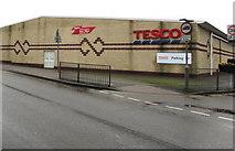 SO6302 : West side of Tesco, Lydney by Jaggery