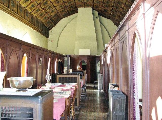 The Great Hospital - Eagle Ward (communal corridor)