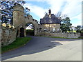 SJ1181 : North Lodge and gateway to Gyrn Castle by Eirian Evans