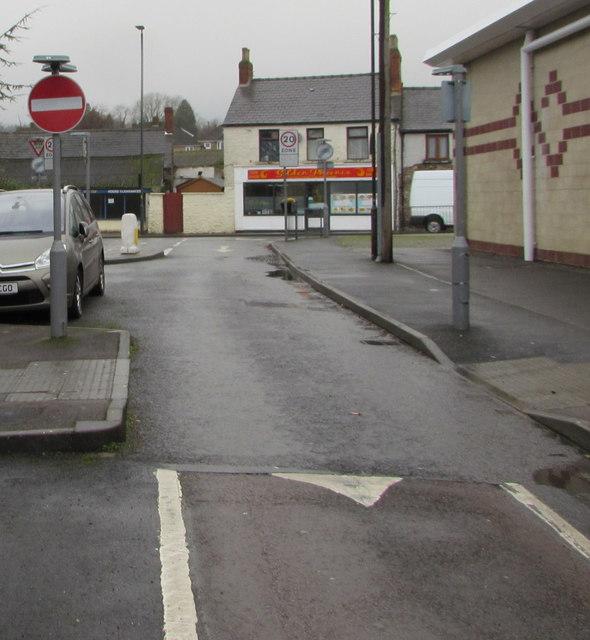No Entry sign, Oxford Street, Lydney