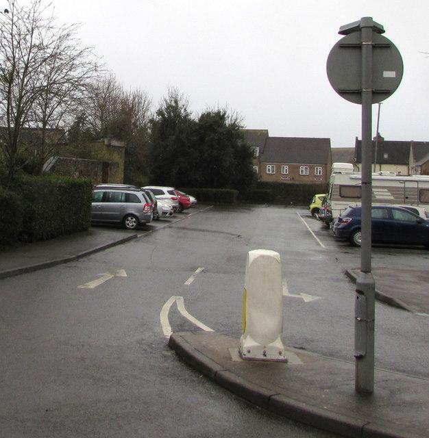 Tesco car park, Lydney