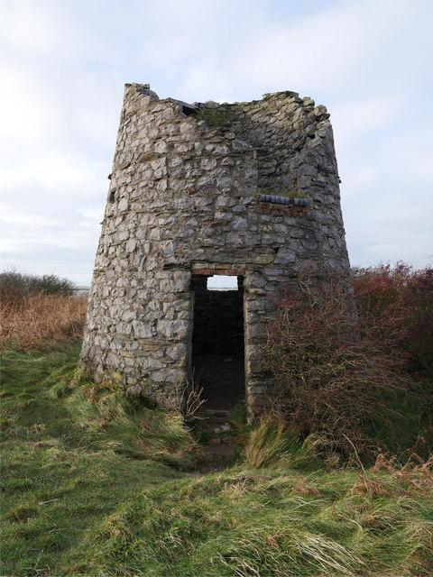 Windmill at Hodbarrow Point