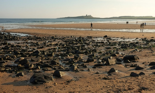 Towards Dunstanburgh Castle