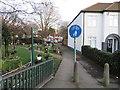 TQ2865 : Path at Hackbridge by Malc McDonald
