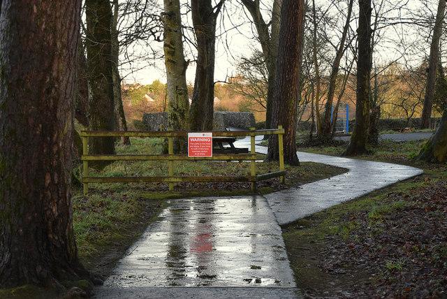 Slippery path, Cranny