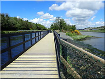 J0923 : View North along the Newry Canal overspill bridge by Eric Jones