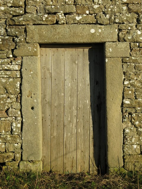 Old door at High Farm