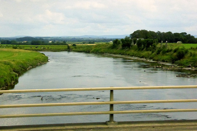 River Esk near Metal Bridge