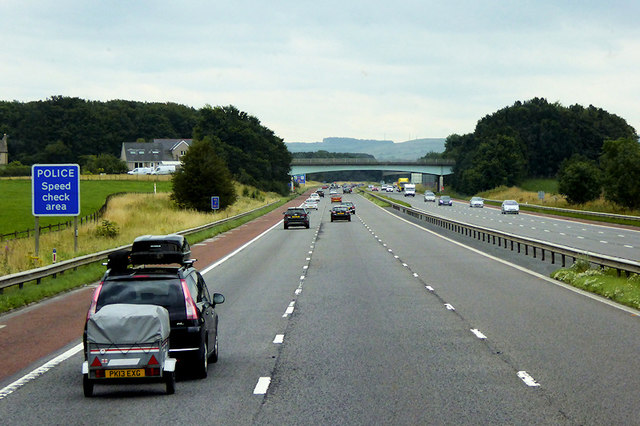 M6 Motorway between Galgate and Forton
