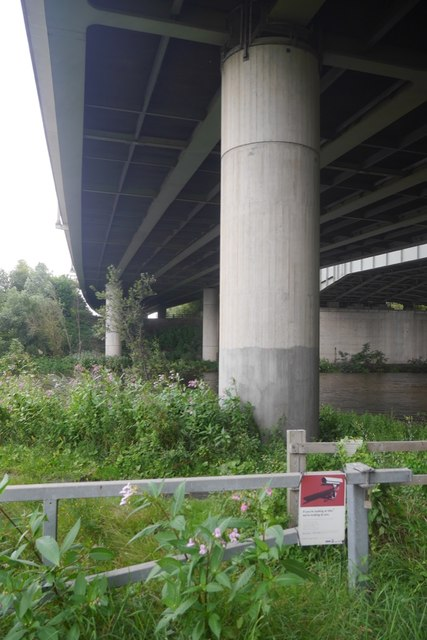 Under the Thelwall Viaducts