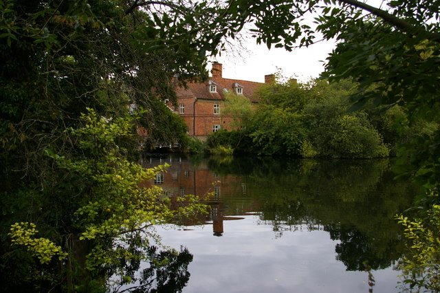Flatford Mill across the river Stour