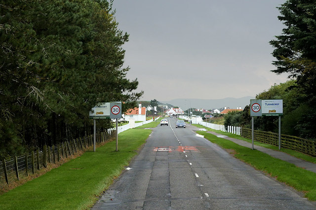Turnberry, Maidens Road