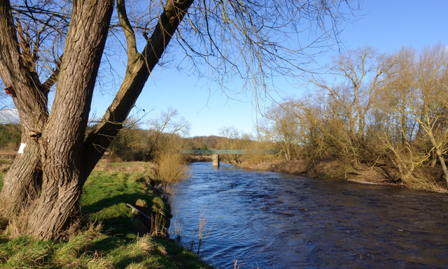River Wear flowing north