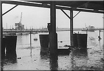 SW4628 : Newlyn Harbour 1948 by Alan Murray-Rust