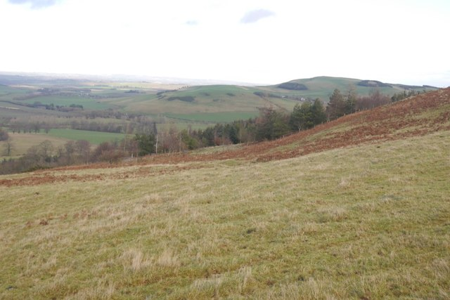 North side of Pawston Hill