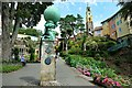 SH5837 : Hercules statue at Portmeirion by Jeff Buck