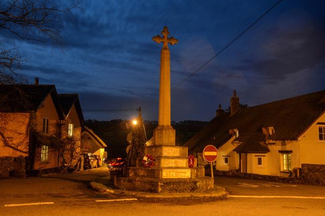 Upottery : War Memorial