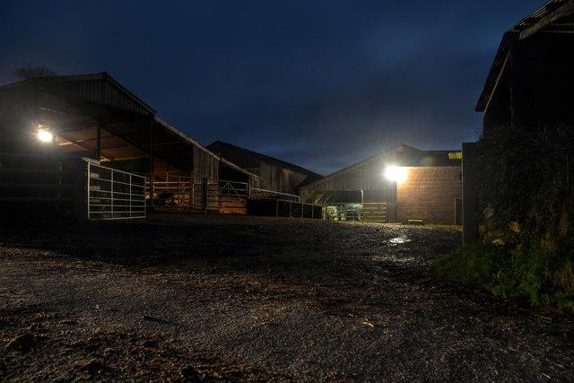 Upottery : Ullcombe Farm