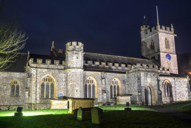 Combe St Nicholas : St Nicholas Church