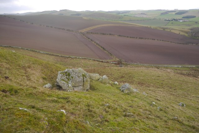 Rock outcrops, Hare Hill