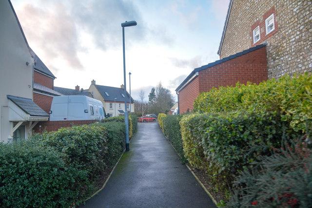 Churchinford : Footpath