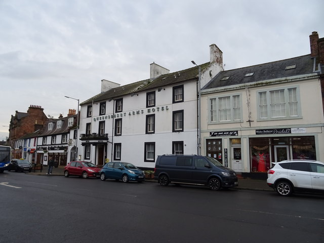 The Queensberry Arms Hotel, Annan