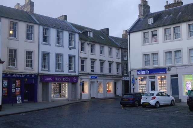 Kelso town centre