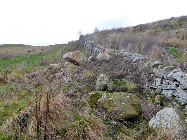 Rocks and stone wall
