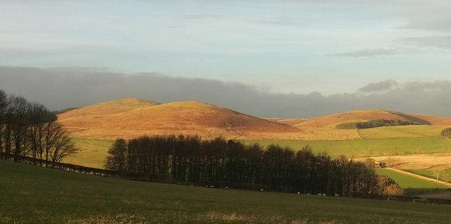 Hills near Fawdon